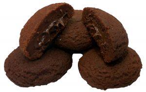 Μπισκότα Κακάο με Γέμιση Κρέμα Σοκολάτας