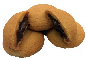 Μπισκότο Βανίλιας Γεμιστό με Κρέμα Σοκολάτας
